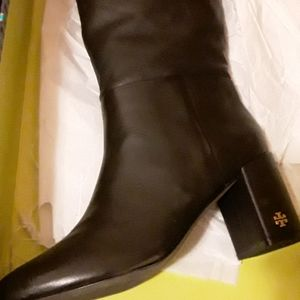 Tory burch brooke slouched boots